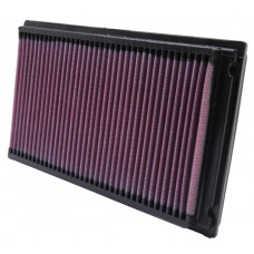Nissan Hardbody Air Filter with Panel Filter by KN, 3.0L, 1990-1994, (D21)