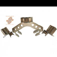 Nissan Pathfinder Long Arm 4-Link Suspension DIY Bracket Kit by Rugged Rocks, Rear, 1988-1995 (WD21)