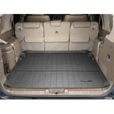 Nissan Armada Cargo Liner by WeatherTech, 2nd Row, Black, 2004-2015 (TA60)