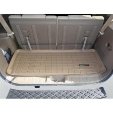 Nissan Pathfinder Cargo Liner by WeatherTech, 3rd Row, Tan, 2005-2012 (R51)