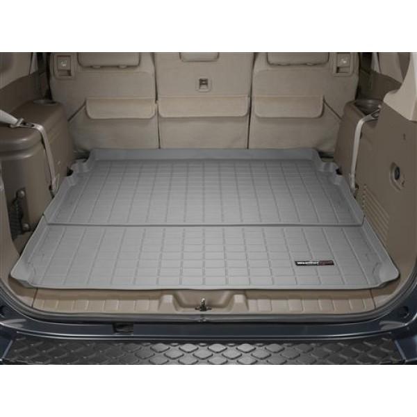 OEM 2005-2012 Nissan Armada Rear Cargo Tray Mat Liner Gray Carpet 261T0-CRGOL