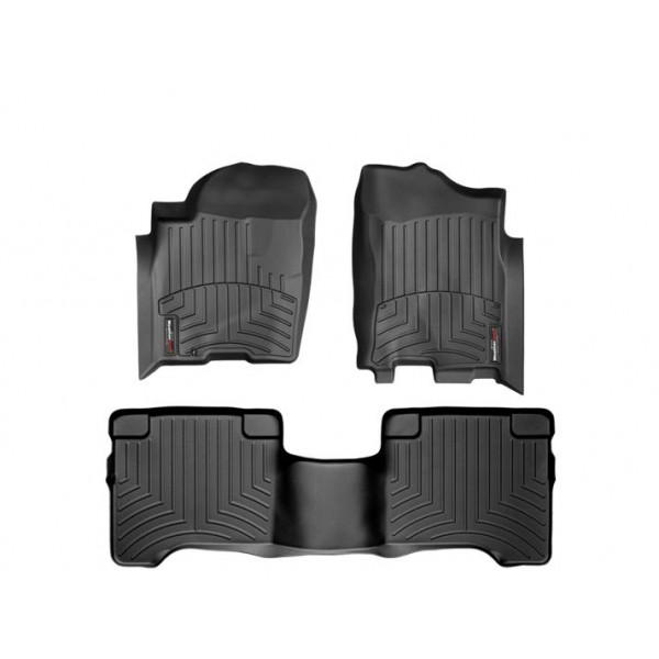 Nissan Armada Floor Mats By Weathertech 1st And 2nd Row