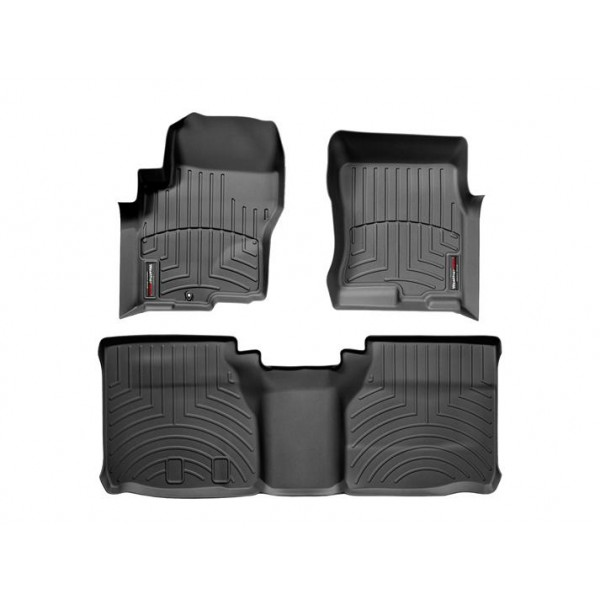 Nissan Frontier Floor Mats By Weathertech Front And Rear King Cab One Hook Black 2005 2006