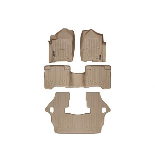 Nissan Armada Floor Mats By Weathertech 1st 2nd And 3rd