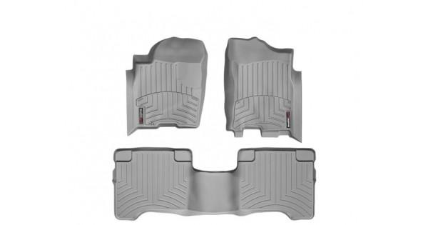 Nissan Titan Floor Mats By Weathertech Crew Cab Front