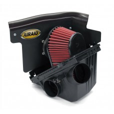 Nissan Frontier Cold Air Dam Intake by Airaid, 3.3L, Dry , Red, 2000-2004 (D22)