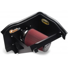 Nissan Pathfinder Cold Air Dam Intake by Airaid, 5.6L, Oiled, Red, 2004 (R51)