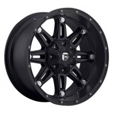 D531 Hostage by MHT, 17x8.5; 6x4.5, Matte Black
