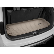 Nissan Pathfinder Cargo Liner by WeatherTech, 3rd Row, Tan, 2013-2015 (R51)