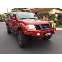 Nissan Frontier Aluminum Front Bumper by Hefty Fab, 2005+ (D40)