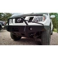 Nissan Frontier Steel Front Bumper (Prerunner Hoop) by Hefty Fab, 2005+ (D40)