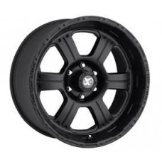 Series 7089 by Pro Comp, 16x8; 6x4.5, Flat Black