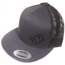 Rugged Rocks Snap Back Hat - Grey
