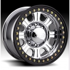 Monster Forged Aluminum Beadlock Wheel w/ Steel Ring by Raceline, RT135, 17x8.5, 6x5.5, 4.5