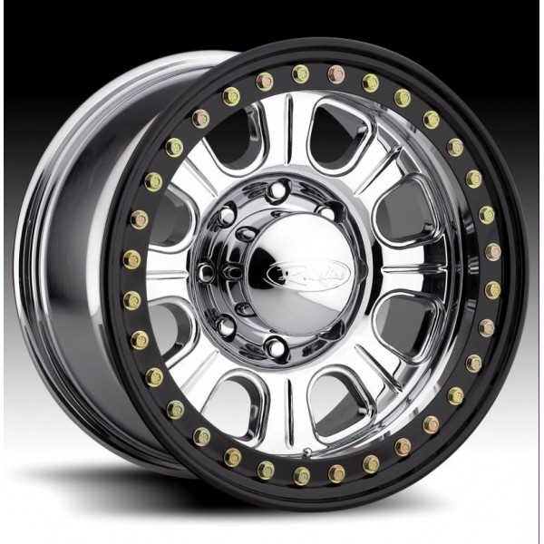 Monster Forged Aluminum Beadlock Wheel W Steel Ring By