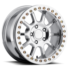 Liberator Forged Aluminum Beadlock Wheel w/ Aluminum Ring by Raceline, RT180, 17x9.5, 6x5.5, 4.5
