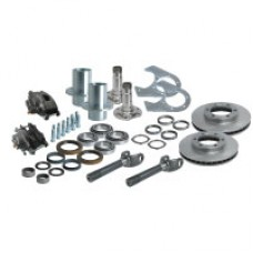 "Nissan Hardbody 6 x 5.5"" Pattern Dana 60 Front End Kit by Solid, 1990-1997 (D21)"