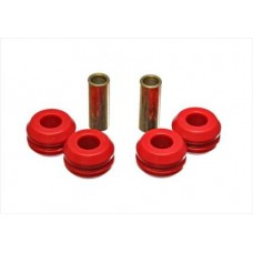 Nissan Pathfinder Strut Rod Bushing Set by Energy Suspension, Front, Black, 1988-1995 (WD21)