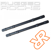 Nissan Xterra Titan Swap Extended Front Chromoly Axle Shafts By Rugged Rocks, Pair, R180, 2005-2015 (N50)