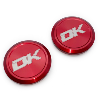 Red Nissan Ball Joint Caps by Dirt King