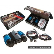 Twin On-Board Air Compressor by ARB, 12V