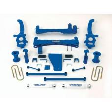 """Nissan Titan 6"""" Lift Kit w/ Dirt Logic ear Shocks by Fabtech, Basic, 2004-2006 (A60)"""