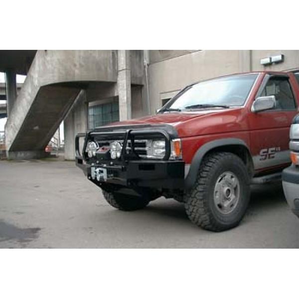 Nissan Hardbody Front Winch Bumper Deluxe Bull Bar By