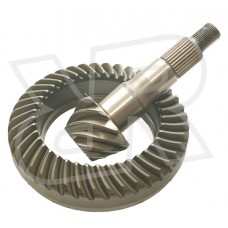 Working Pull (Used) 3.36 Nissan Titan Ring and Pinion Gears by Dana, Front M205, 2004-2015 (A60)