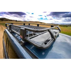 Nissan Patrol Deluxe Alloy Roof Rack with Mesh Floor by ARB, Full Size, 1987-1997 (Y60)