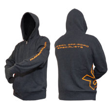 Rugged Rocks Branded Zip-Up Hoodie