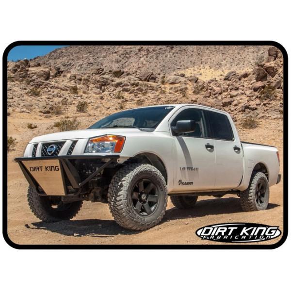 Nissan Titan Prerunner Front Bumper By Dirt King 2004