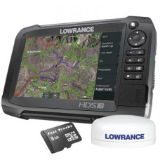 HDS-7 Carbon Multifunction Off Road GPS Baja Bundle by Rugged Routes