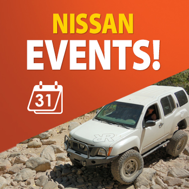 nissan off road events