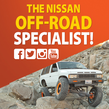 Rugged Rocks Off Road Nissan 4x4 and off road specialitst