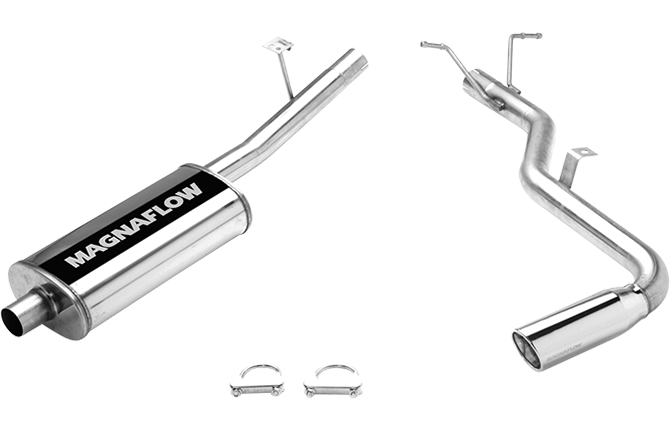 Nissan Xterra Cat-back Exhaust by Magnaflow, 3.3L V6 2000 - 2004