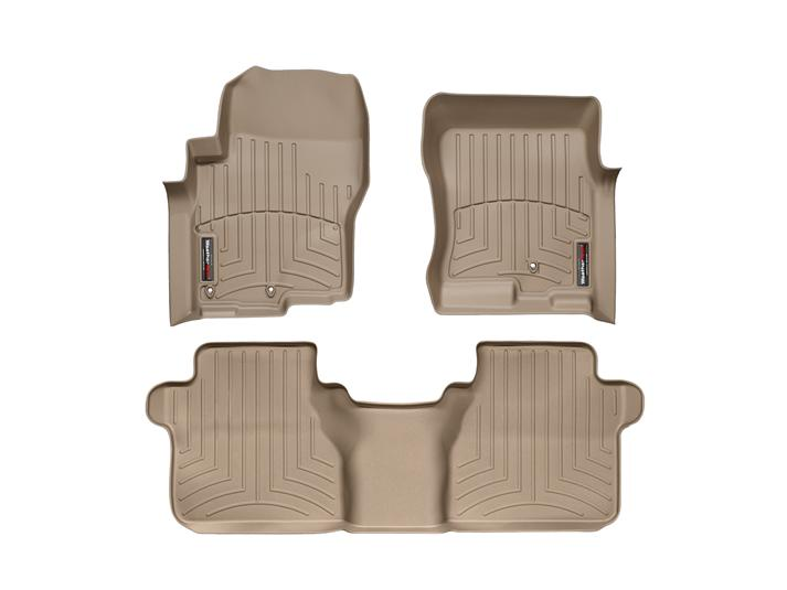 Nissan Frontier Front Amp Rear Floor Mats 2005 2015 By