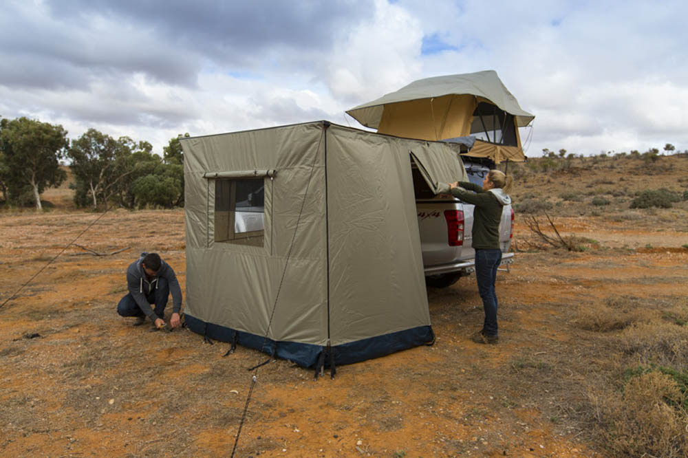 Arb Touring Awning 3 Wall Set No Floor 2000mm X 2500mm