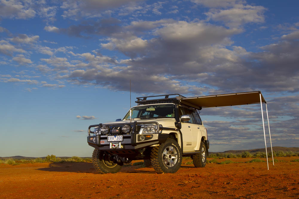 ARB 814101 Awning 2500 Retractable Side Roof Rack - 4x4 ...
