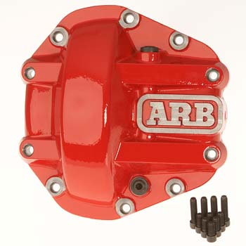 Nissan Frontier Rear Differential Cover by ARB, M226, Red