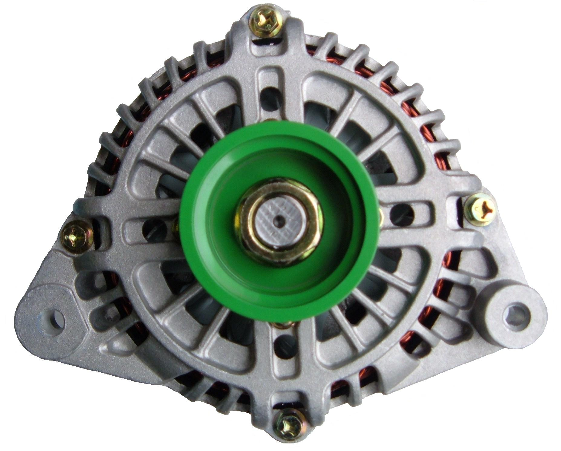 Nissan Hardbody High Output Alternator by Mean Green 1986 - 1995 3.0L V6, 180 Amp