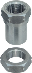 "1-1/4"" - 12 Right Hand Hex Bung w/ Jam Nut by Currie"