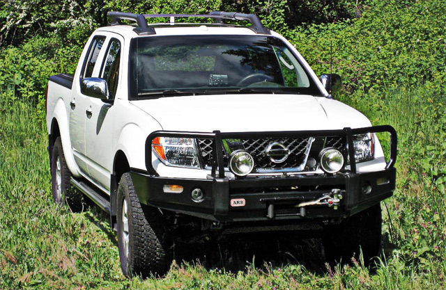 Awesome ARB   Front Bumper Winch Bar   Nissan Frontier 2005   U002708