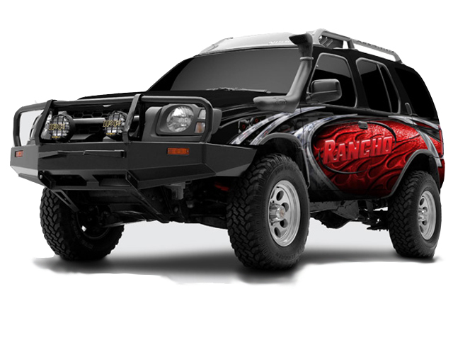 Nissan xterra torsion bars by sway a way 1999 2004